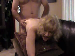 Granny bent over