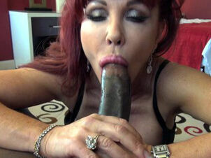 Middle aged women sucking cock