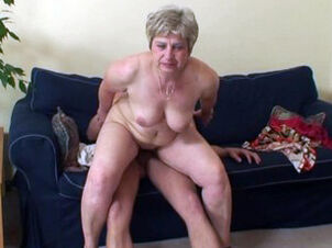 Old grannies pussy