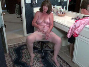 Milf bathroom