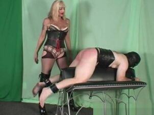 Spanked matures