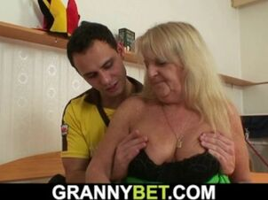 Grannys hairy pussy